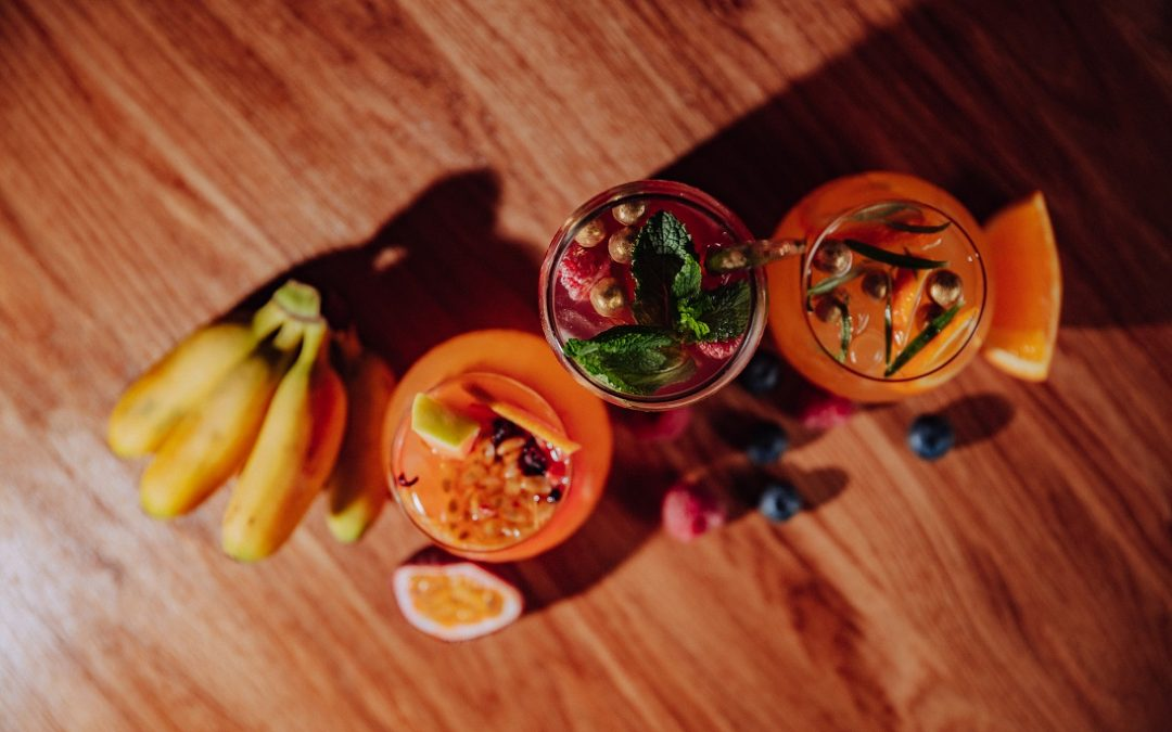 Ovocné osviežujúce limonády jednoduchý recept